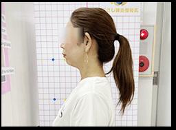 姿勢分析、身体の歪みやバランスを測定
